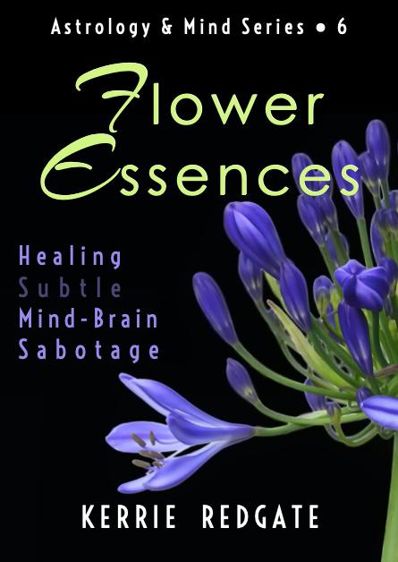 'Flower Essences | Healing Subtle Mind-Brain Sabotage book cover by Kerrie Redgate